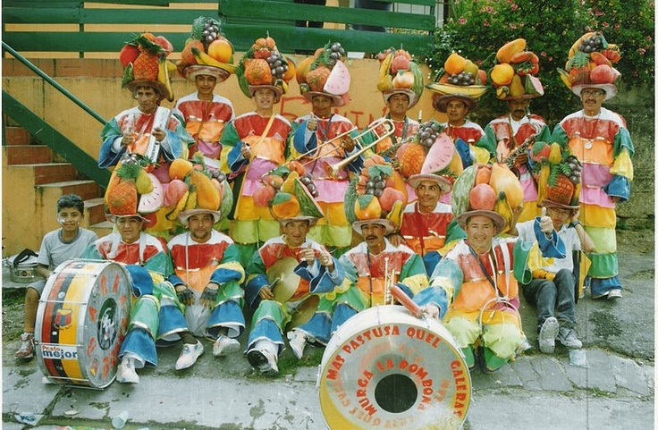 Murga. Blaks & Whites carnival. Pasto, Colombia. UNESCO Masterpieces of the Oral and Intangible Heritage of Humanity