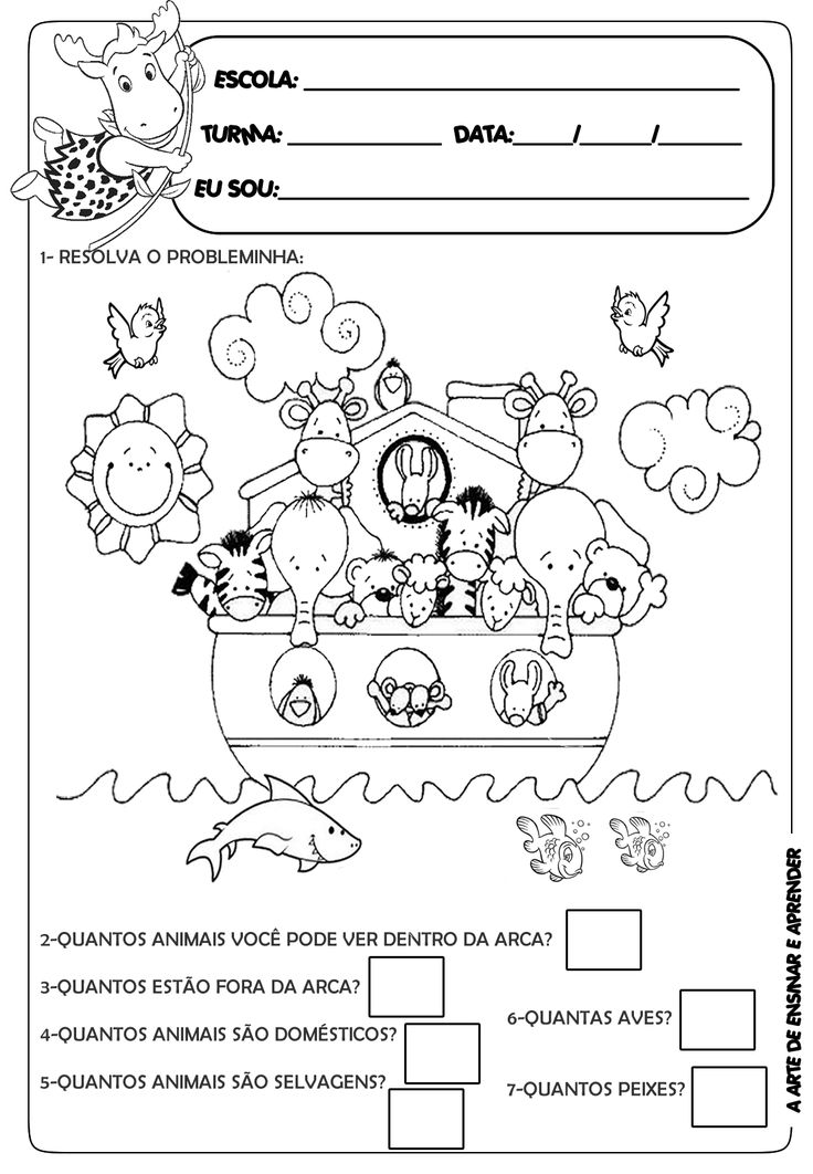 A Arte de Ensinar e Aprender: Atividades probleminha                                                                                                                                                                                 Mais