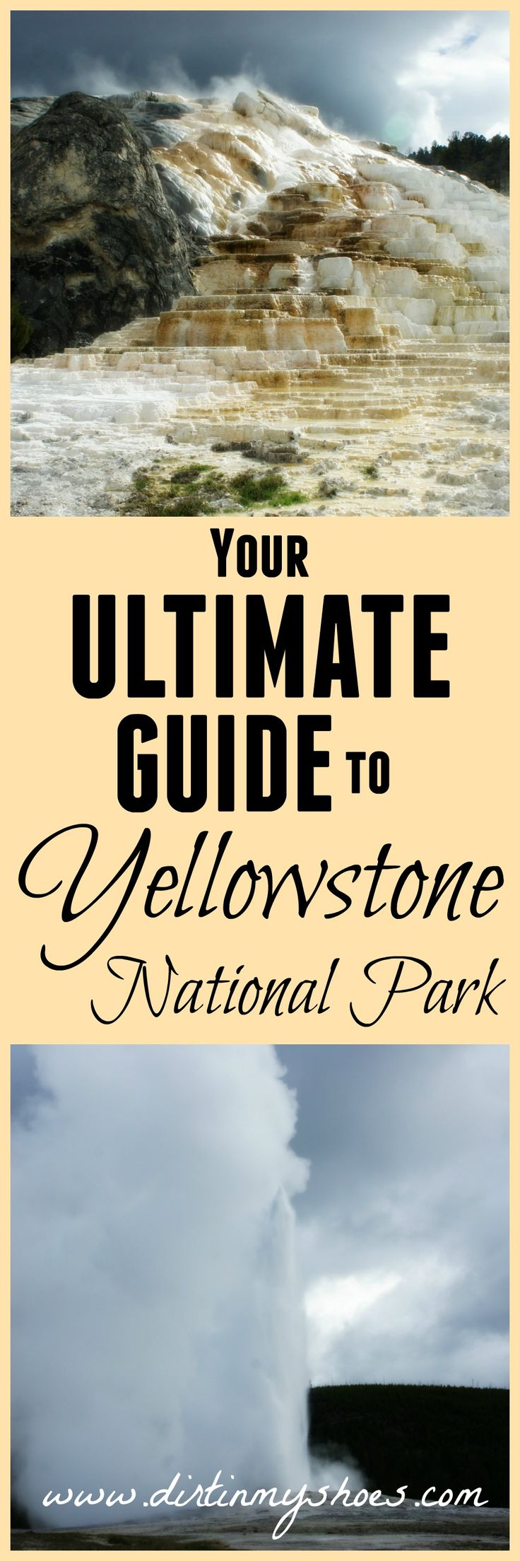 Everything you need to know about planning a trip to Yellowstone National Park!  Learn about the 12 things you can't miss, roadside waterfalls dining, lodging, hiking, and camping!  This website HELPED me so much with my trip planning.