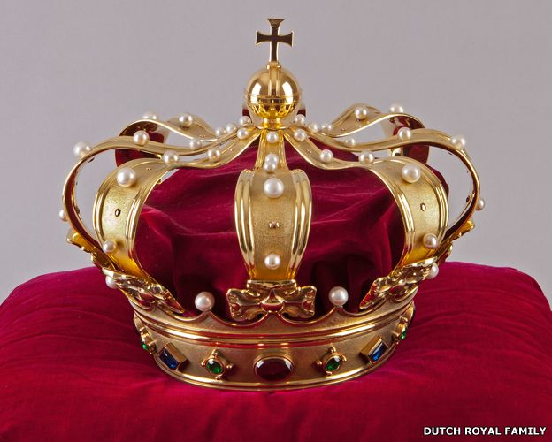 """Crown of the Netherlands: Willem-Alexander has said he wants to """"be a king that can bring society together, representative and encouraging in the 21st Century""""."""