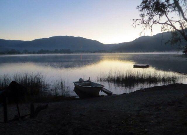 Amanecer Lago Lanalhue, Reg. del  Bio Bio Chile