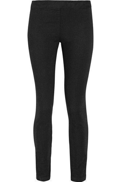 The Row - Stratton Stretch-cotton Leggings - Black - x small
