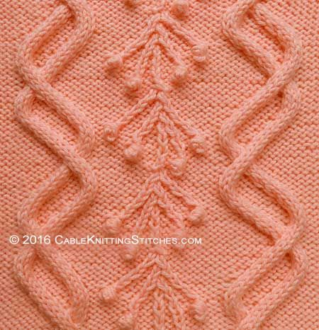 aran knitting stitches instructions