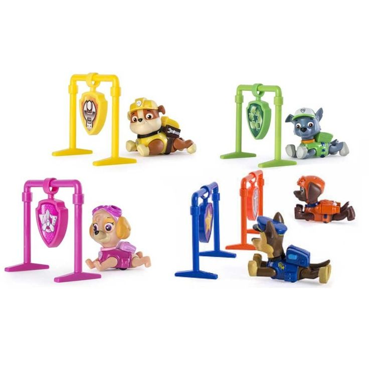 Paw Patrol Pull Back Pups-Toy Universe