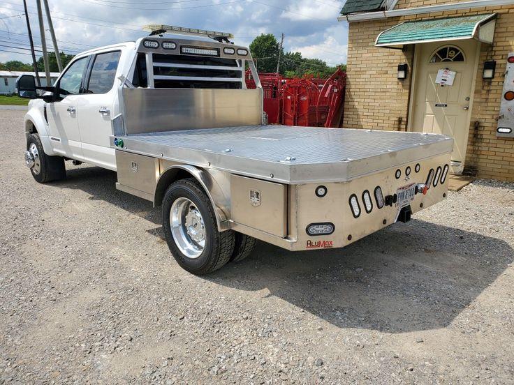 Aluminum Skirted Western Hauler Custom truck beds, Truck