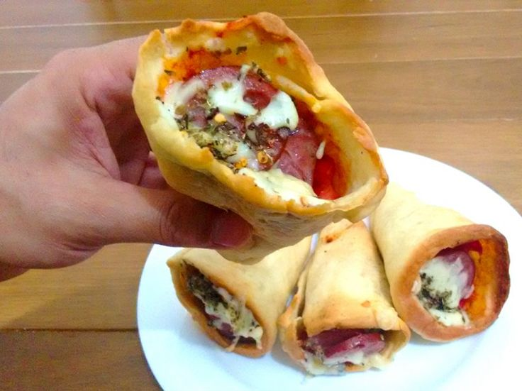 Menu de Festa: O jeito mais fácil de fazer Pizza Cone