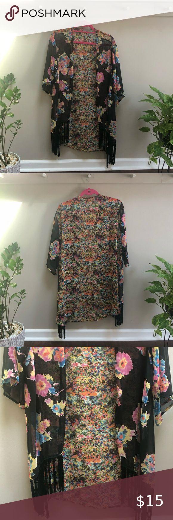 Stein Mart Kimono Clothes Design Fringe Kimono Fashion [ 1740 x 580 Pixel ]