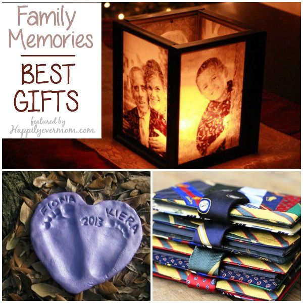 Over 20 ways to preserve family memories - love the gift ideas!