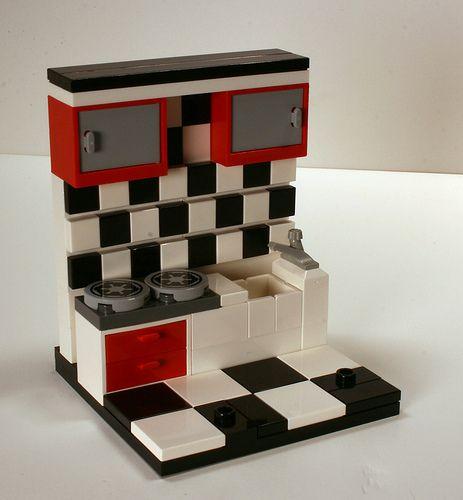 #MOC #LEGO #IDEAS LEGO Kitchen