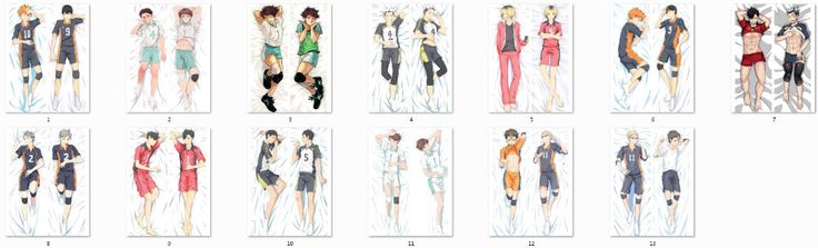 ==> [Free Shipping] Buy Best September 2016 update haikyuu!! anime Characters cool boy hinata shouyou & kageyama tobio pillow cover body Pillowcase Online with LOWEST Price | 32743961919