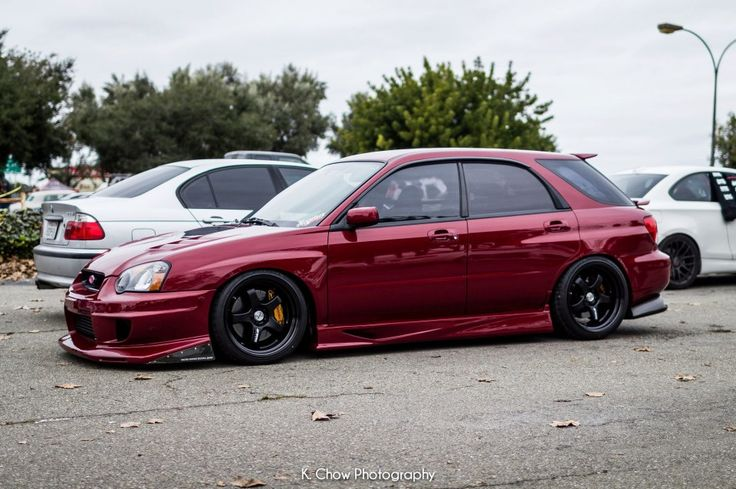 Subaru Station Wagon jacked up | Subaru Impreza Wagon