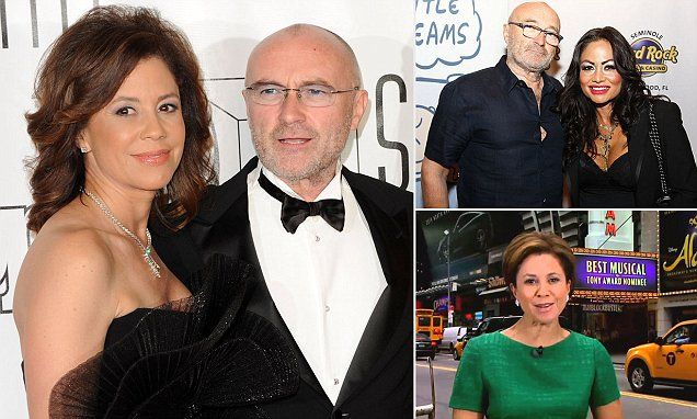 TV anchor Dana Tyler nursing a broken heart after Phil Collins dumped her | Daily Mail Online
