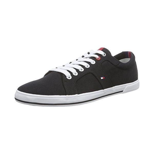 Tommy Hilfiger HARRY 9D, Herren Sneakers, Schwarz (BLACK_990), 42 EU -