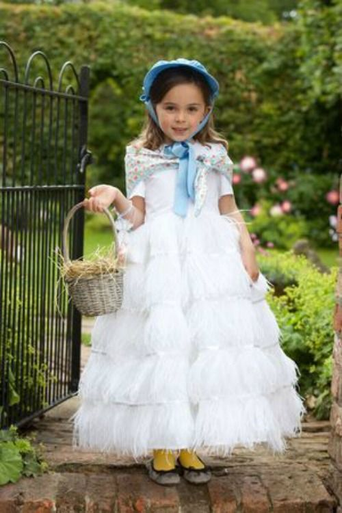 World Book Day Costume Ideas for Kids - Beatrix Potter Jemima puddle-duck outfit