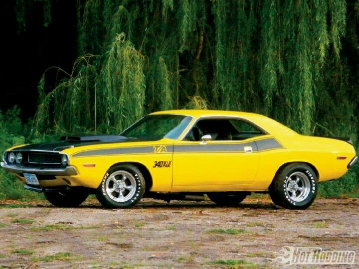 Plymouth Cuda 340 six pack