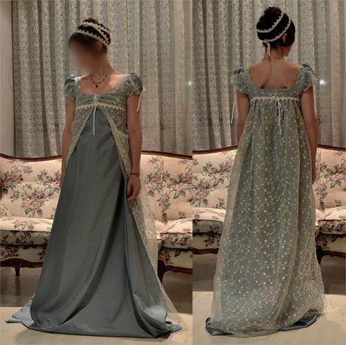 epoca regencia vestidos femeninos - Buscar con Google