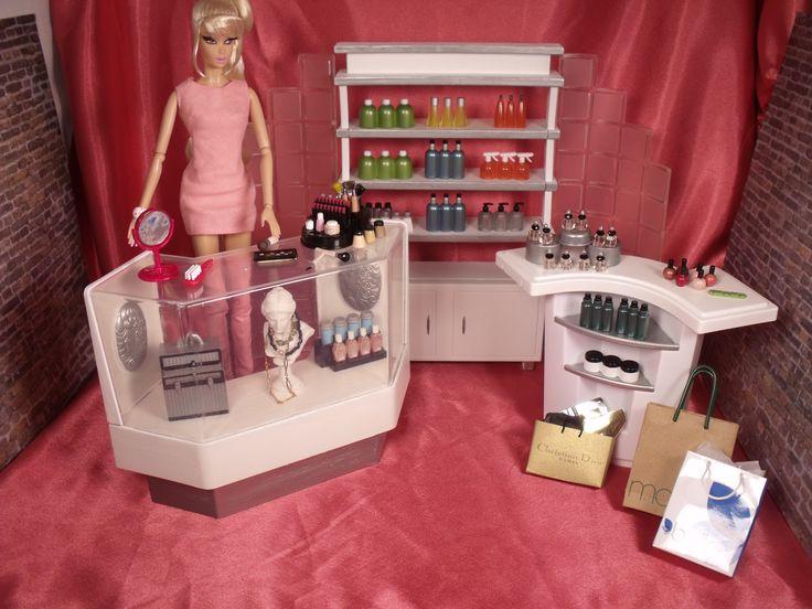 25 Bsta Barbie Diorama Iderna P Pinterest Modedockor