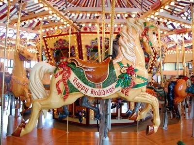 salem oregon carousel horses