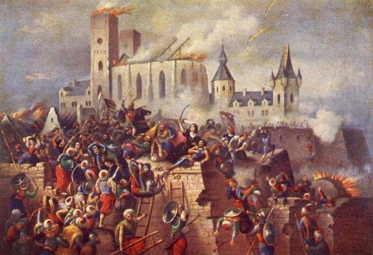 [Ottoman Empire] Conquest of Eger Castle, Hungary, 1552 (Macaristan'da Eğri Kalesi'nin Fethi, 1552)