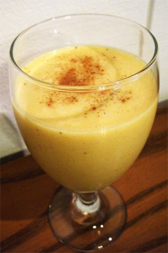 Coconut Pumpkin Pie Smoothie
