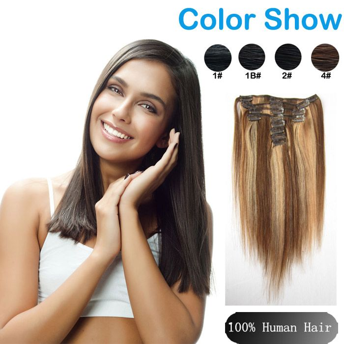 20 best clip ins hair extension images on pinterest indian hair sina beauty 20 inch clip in human hair extensions straight brazilian virgin hair clip in extension color no tangle good quality human hair more info pmusecretfo Image collections