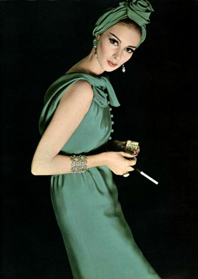 Philippe Pottier Model: Wilhelmina Cooper - Guy Laroche,1962