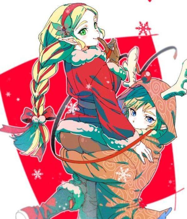 #Noël #Dessin ebiebieshrimp #Manga