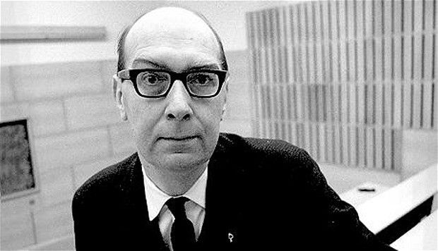Philip Arthur Larkin, CH, CBE, FRSL (9 August 1922 – 2 December 1985).  English poet and novelist.