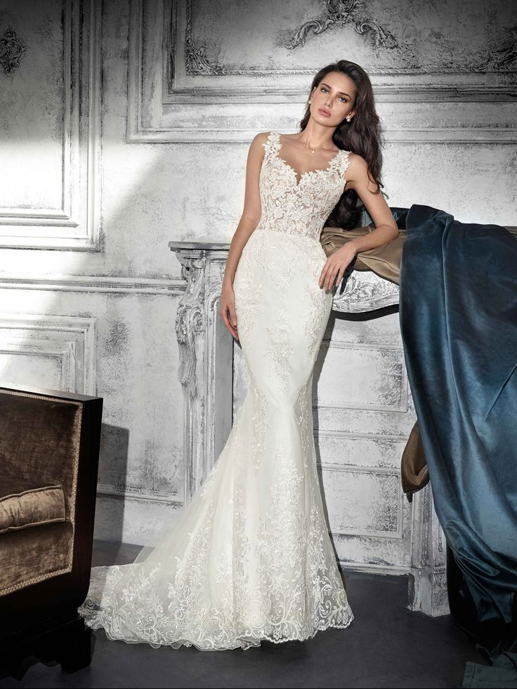 Vestido de Novia de Demetrios - 752      Wedding Dress #bride #wedding #white #mermaid