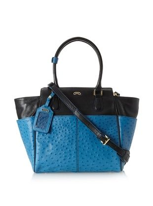 60% OFF RoviMoss Women's Girlfriend Satchel, Blue