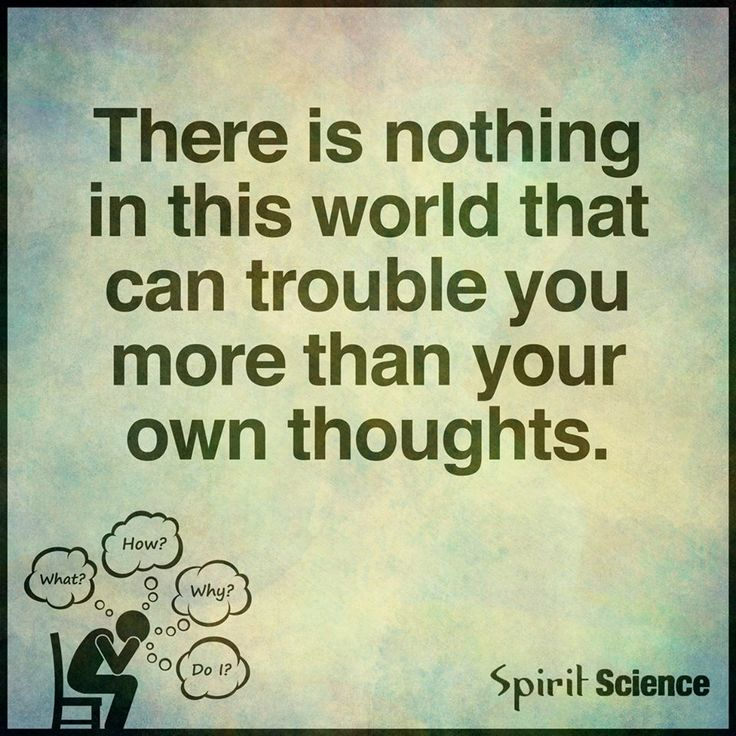 Be the observer of your thoughts. Don't let your thoughts control you. You control your thoughts. Love yourself like you would a loved one <3