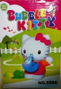 31.000  Mainan anak bubble dengan gambar karakter hello kitty yang sangat cocok menemani si kecil untuk bermain atau pada saat mandi. Mainan menggunakan batere dan dapat mengeluarkan musik, lampu dan tentunya gelembung bubble.