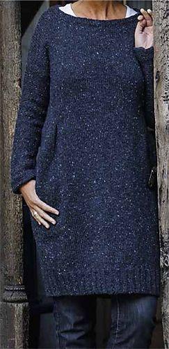 Ravelry: Strickkleid aus Tweedwolle pattern by Landlust Design Team