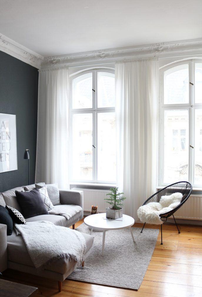 Living Room Best Scandinavian Living Room Curtains Ideas Natural