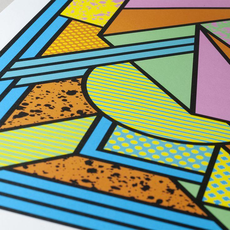 Print designed by Supermundane for Strut and Fibre's Ambassador Collection.