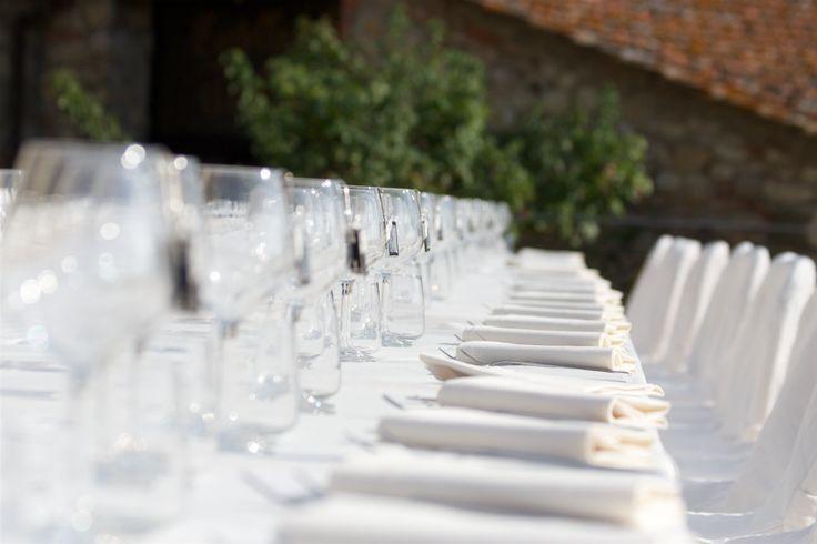 Bryllupsmiddag - Slottsbryllup i Toscana med Italienske Bryllup   Wedding in Tuscany