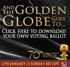 2013 Golden Globe Nominations Announcement - GOLDEN GLOBE AWARDS