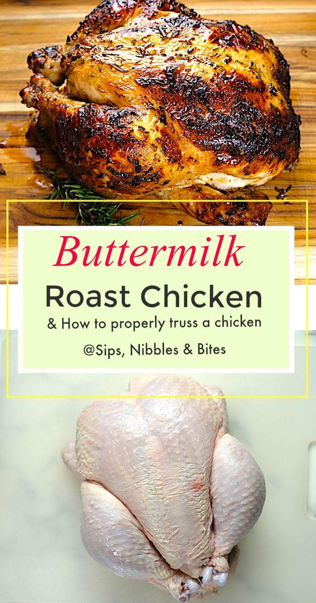 Buttermilk Roast Chicken Recipe Roast Chicken Recipes Chicken Recipes Cooking Recipes