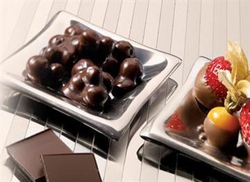 Fruits trempés dans le chocolat | Dessert, Fondue, Recette rapide