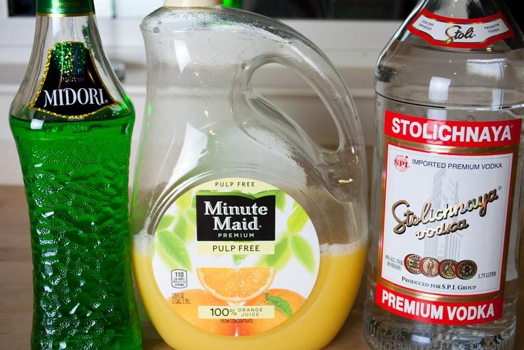how to make a melon ball martini