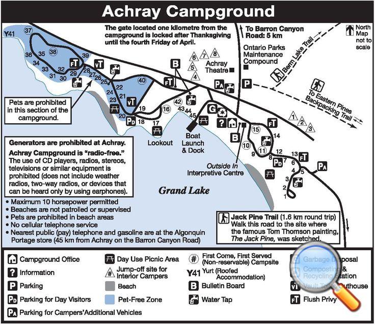 Achray Campground | Algonquin Provincial Park | The Friends of Algonquin Park