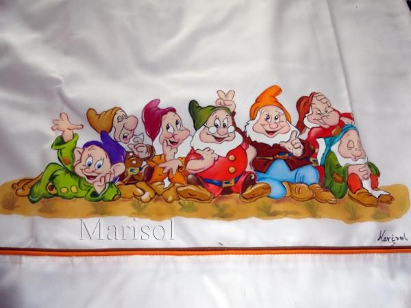 537 best images about pintura en tela sabanas de bebe - Sabanas de ninos ...