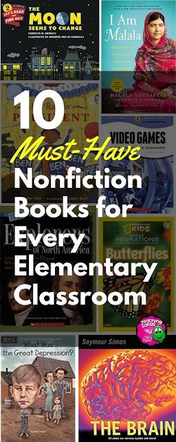 Discover ten must-have nonfiction books and series for your elementary students!