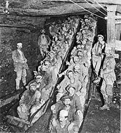 miners in Ca. Placer gold was first found in Wolf Creek in 1848. Grass Valley