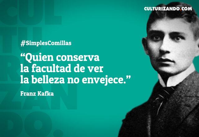 10 grandes frases de Franz Kafka - culturizando.com | Alimenta tu Mente