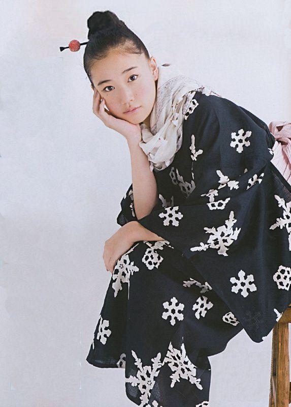 Snowflake kimono