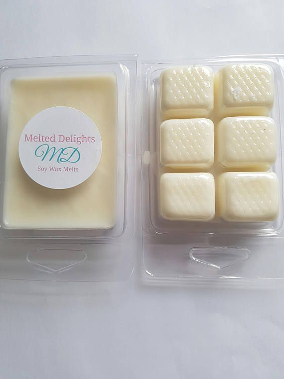 Baby Powder Wax Melts  https://www.etsy.com/uk/listing/527600769/baby-powder-wax-meltclamshellssoy-wax