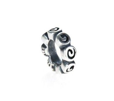 Pandora Silver Rose Spacer Charm 790176 | John Greed Jewellery