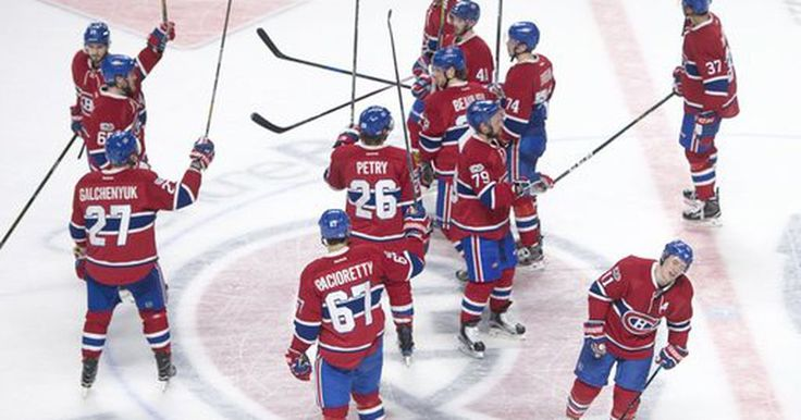 Byron, Canadiens beat Panthers 6-2 to clinch playoff spot (Mar 30, 2017) #Sport #iNewsPhoto