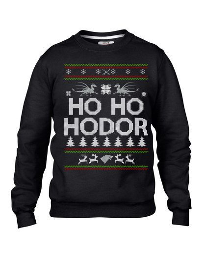 This Game of Thrones funny Christmas sweater is sure to be a hit at holiday parties.